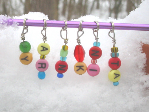 gift stitch markers