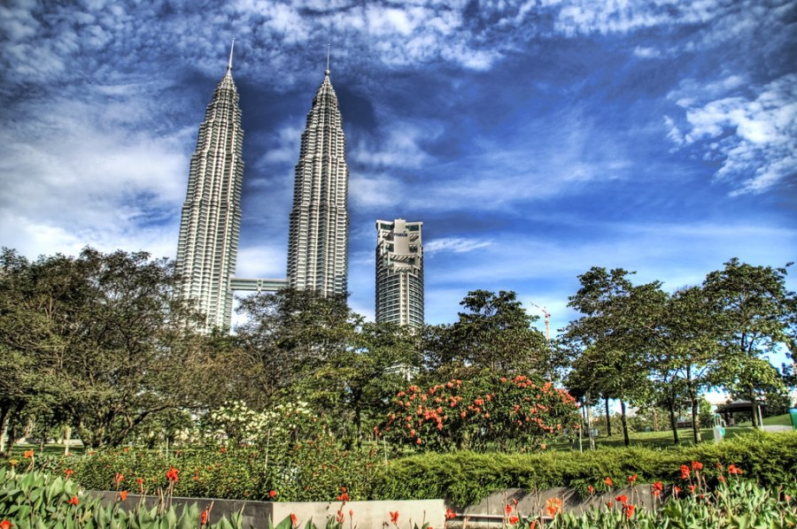 The Tallest Buildings in the World (well, until 2004)