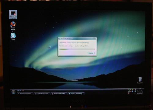 Windows Explorer crash in Vista