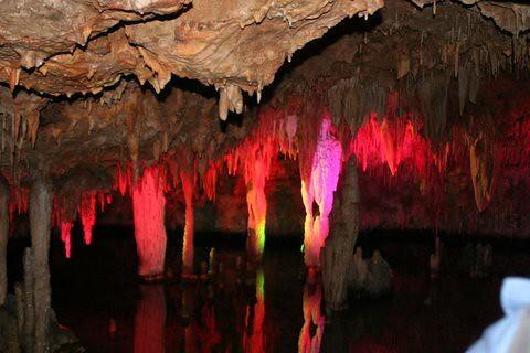 Lights in Meramec Caves