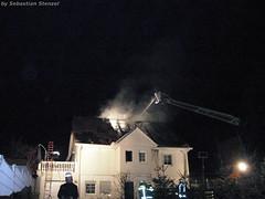 Dachstuhlbrand Nordenstadt 28.12.06