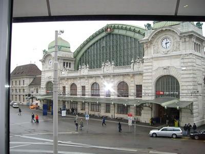Estación de trenes de Basel