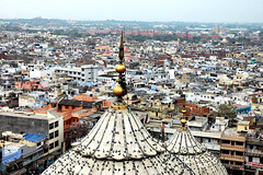 Bird's eye View of Old Delhi.
