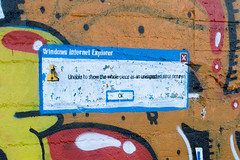 Internet Explorer Error Message tagged