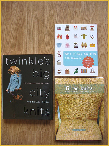 recently acquired knitting books