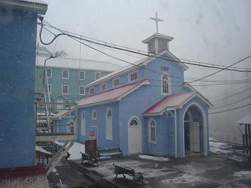 Iglesia de Sewell - CC Fernando José Ignacio Gárate Parra