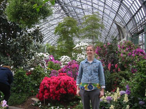 jolene in greenhouse