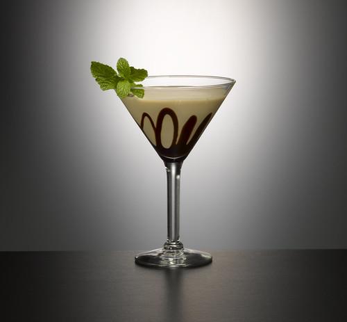 Mint Bailey's Chocolate Martini by GarnishBar.