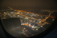 Amsterdam Arena from the air