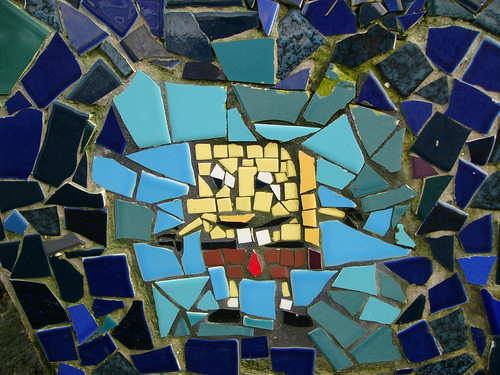 Sponge Bob Amp Mermaid Kids Cartoon Mosaic Ceramic Tile