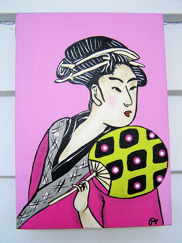 geishapainting