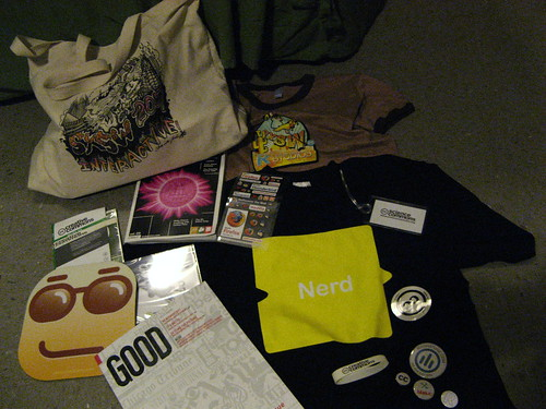 SXSW Interactive | Oh, good lord, it's schweet schwag!
