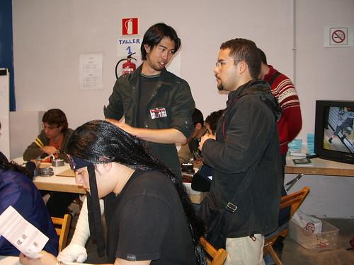 Hiro y Carlos del club de GO