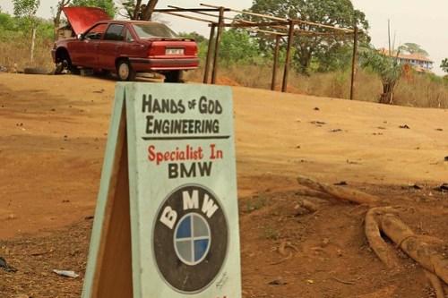 Hands of God BMW Engineering