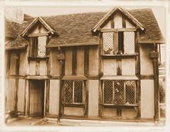 Shakespeare's birth place.  Stratford upon Avon