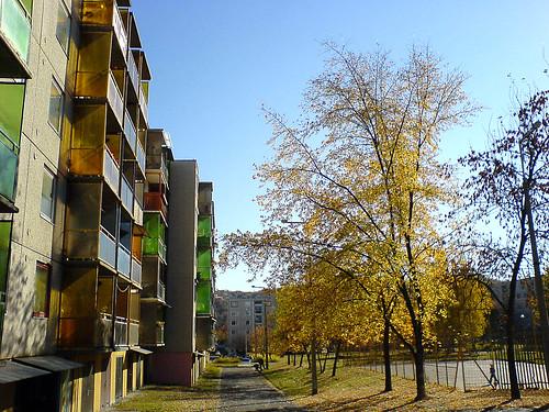 Autumn colors in Kazincbarcika