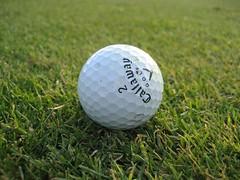 golf ball, at Ruth Lake Country Club