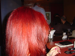 Red red hair