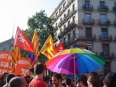 Manifestación Orgullo Gay Barcelona