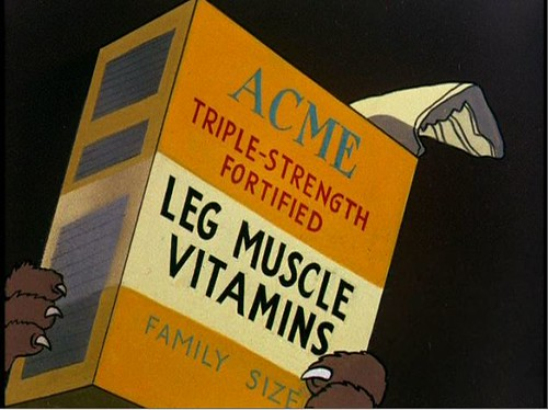 Acme leg muscle vitamins by Dystopos.