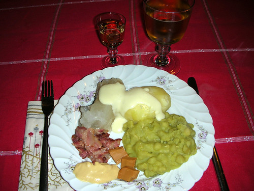 The ever famous Lutefisk - a Chrsitmas dish which I prepared!