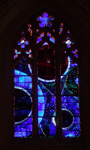Moon Window at the Washington National Cathedral