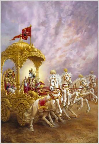 Lord Krishna Speaks to Arjuna by His Holiness Bhaktiratna Sadhu Swami Gaurangapada