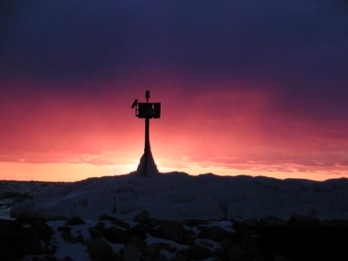February Sunset I by Andrew McFarlane