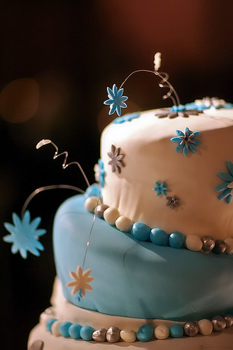 Frank Gehry Wedding Cake