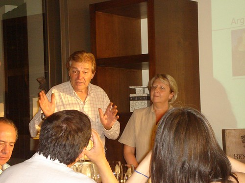 Pedro Marchevsky y Susana Balbo, dictando c?tedra