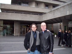 Ari and Jim at the National Theatre