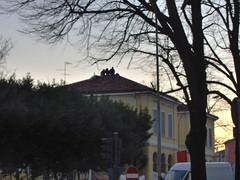 Tre sopra il tetto.