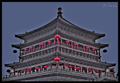 Xi'An Bell Tower (in HDR)