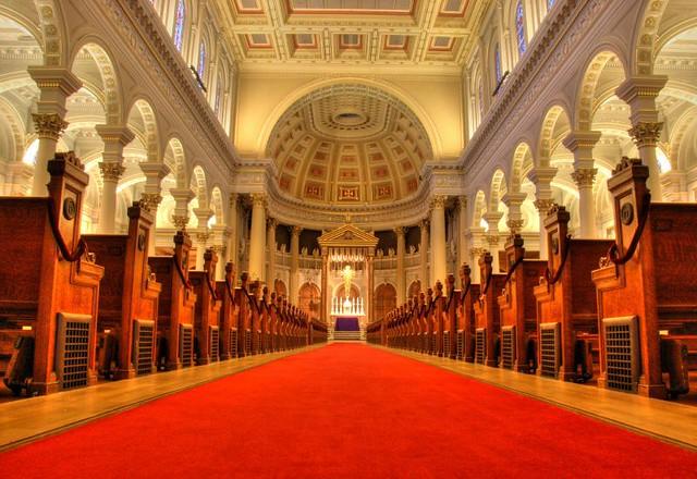 The Red (Sea) Carpet, St. Ignatius Church