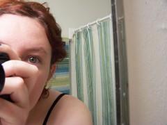 new stripey bathroom - day 7