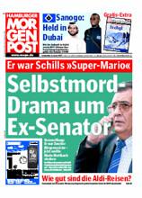 Titelseite der Hamburger Morgenpost