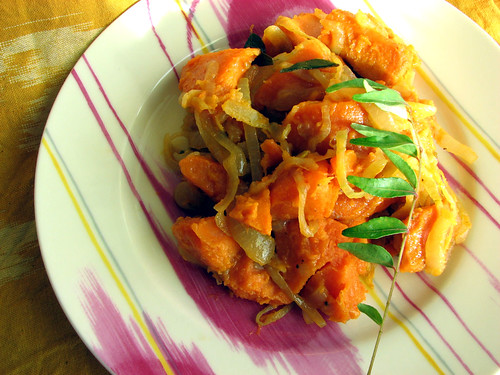 Sweet Potatoes with Cardamom and Chiles