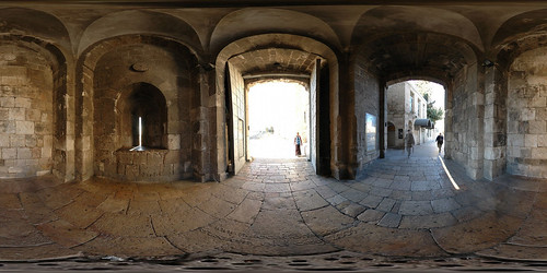 Jaffa Gate - Jerusalem, Old City - 360°