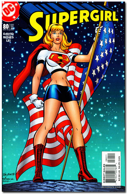 Supergirl #80 - NOT DIRTY!
