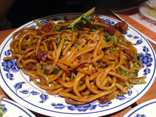 上海粗炒麵