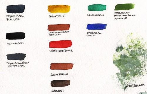 Watercolor Online Lesson 3 Colors