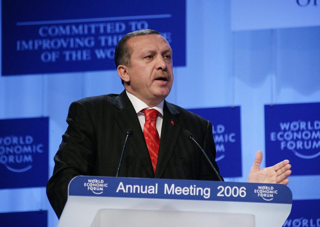 ארדואן. (צילום: World Economic Forum)