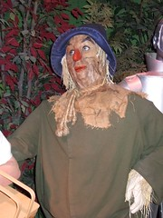 Ray Bolger as Scarecrow from the Wizard of Oz ...