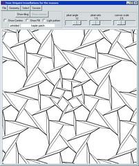 New Version of Tess, Alex Bateman's origami tessellation