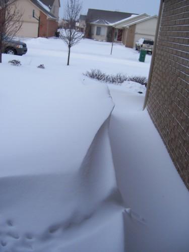 Snow storm picture