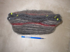red stripe bag