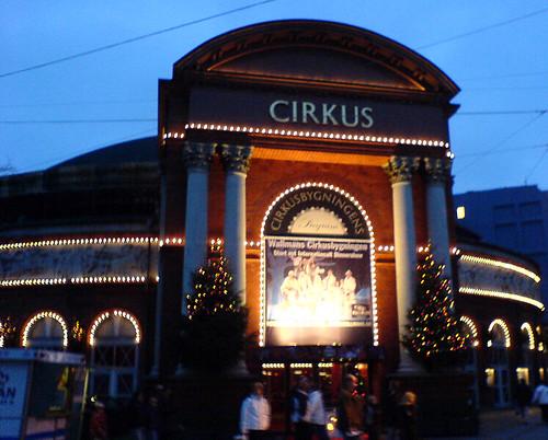 Cirkus in Copenhagen