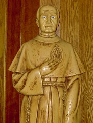 Maximilian Kolbe Statue