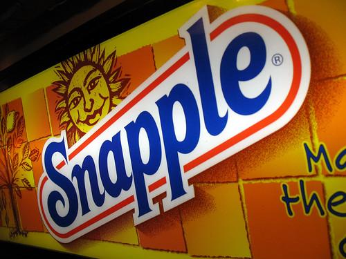 Snapple!