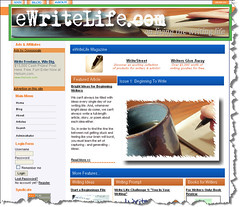 eWriteLife Webzine : Issue 1